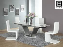 White Dining Room Chairs Acrylic Dining Room Table Is Also A Kind Of White Dining Room Set