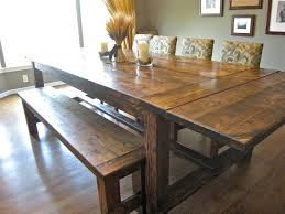 How To Make A Dining Room Table How To Make A Diy Farmhouse Dining Room Table Restoration Hardware