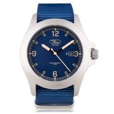 <b>Наручные часы</b> Land Rover Heritage Watch, <b>Silver</b> / Blue ...