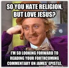 Jesus vs Religion – Final Thoughts | Restless Pilgrim via Relatably.com