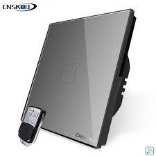 <b>CNSKOU</b> 433mhz Rf Wireless Remote <b>Switch</b> Light 220V 1Gang RF ...