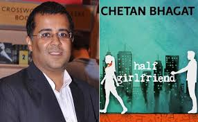 Chetan Bhagat and his Half Girlfriend