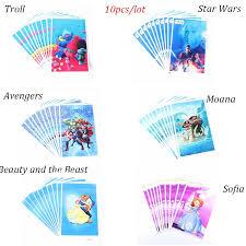 <b>10Pcs</b> Princess/moana/Avenger/ <b>Cartoon</b> Bag Gift <b>Cartoon</b> Packing ...
