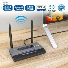 <b>Wireless Bluetooth 5.0</b> Transmitter Audio <b>Receiver</b> 265FT/80M Long ...