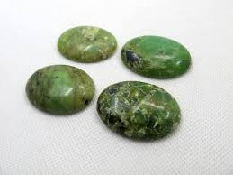 Natural Chrysoprase <b>30x40mm Oval</b> Semi Precious Stone ...