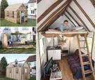 Дизайн маленького дачного домика внутри фото