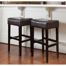 dark leather kitchen bar stool awesome kitchen bar stools