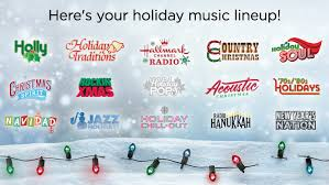 Holiday music channels on SiriusXM with Hallmark Channel Radio ...