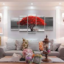 5 piece canvas wall art for living room Decorations ... - Amazon.com