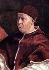 Giovanni de Medici in his pope outfit