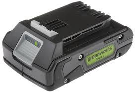 <b>Литий</b>-<b>ионная аккумуляторная батарея GreenWorks</b> Series II ...