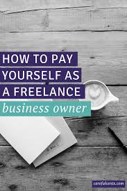 how to pay yourself as a lance business owner the exact formula
