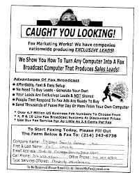 fax broadcast s leads fax sample ads fax advertisements fax marketing works caught you looking