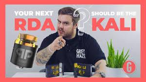 <b>Kali</b> V2 <b>RDA</b>/RSA by <b>QP</b> Designs — Grey Haze Vape Shop