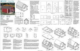 Dog House   Pet Kennel Project Plans  Gable Double Roof Style      Dog House   Pet Kennel Project Plans  Gable Double Roof Style   Porch  Design   D   Baby Furniture Woodworking Project Plans   Amazon com