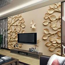 12 3D Wallpaper for <b>TV Wall</b> Units That Will Make a Statement in ...