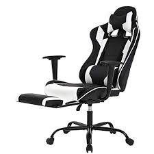 Racing Gaming Chair, High-Back PU Leather <b>Home Office</b> Chair
