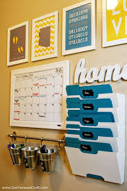 i like the towel holder with buckets for pens markers and pencils command center nice wall hanging office organizer 4