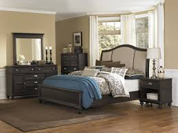 f antique classic black polished wood dresser bedroom design with panel top mirror frames be equipped some drawers using polished chrome nickel cup knob antique classic black