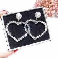 Statement <b>Rhinestone</b> Dangle Drop Earrings Promotion-Shop for ...