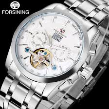 <b>FORSINING Men Sports</b> Mechanical Watch <b>Men's</b> Stailess Steel ...