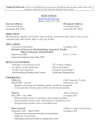 fashion retail resume examples  seangarrette cofashion retail resume examples