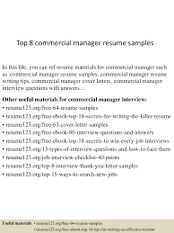 topcommercialmanagerresumesamples conversion gate thumbnail jpg cb