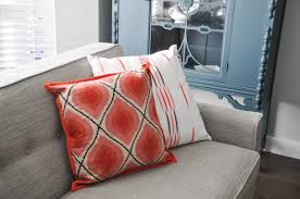 room pillows giveaway pillow central coral and blue pillows