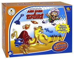 Купить <b>Настольная игра ABtoys Али-Баба</b> и строптивый верблюд ...