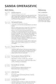 inspector resume samples   visualcv resume samples databasequality inspector resume samples