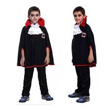 Boys Kids <b>Halloween Evil Vampire</b> Costume Cloak with Denture ...