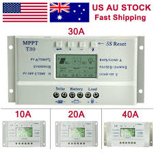 <b>60A</b>/<b>50A</b>/<b>40A</b>/30A/20A/10A 12V 24V Auto Solar Charge Controller ...