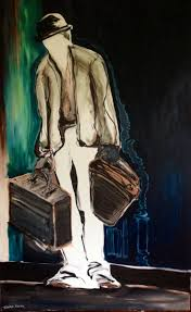 best images about waiting for godot beckett this picture would depict how lucky would look when is was carrying pozzo s bags refusing to