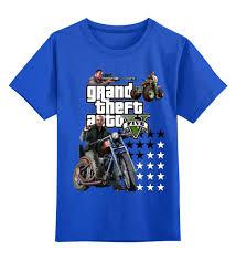 Детская <b>футболка классическая</b> унисекс <b>GTA</b> Live #2377027 за 1 ...