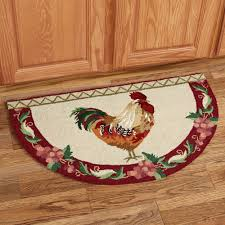rooster kitchen plate wall