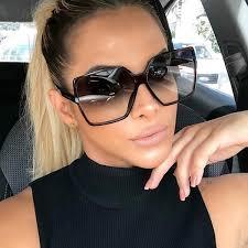Higody <b>Fashion</b> Women Oversize <b>Sunglasses</b> Gradient <b>Plastic</b> ...