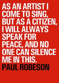 Paul Robeson Quotes. QuotesGram