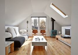 attic living room design youtube: view in gallery scandinavian minimalism at its beautiful best in the transformed attic  attic spaces that offer an