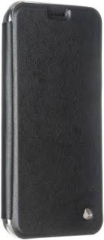 Чехол-книжка <b>Oxy Fashion</b> Book для Apple iPhone X (черный ...