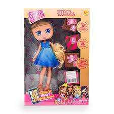 Кукла 1toy <b>Boxy Girls</b> Willa 20 см с <b>аксессуарами</b> в 4-х коробочках ...