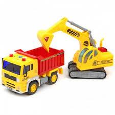 <b>Машина спецтехника</b> CONSTRUCTION TRUCK 1:20, со зв. и св ...
