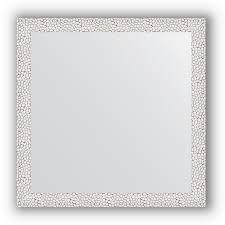 <b>Зеркало</b> в багетной раме - чеканка белая 46 mm EVOFORM ...