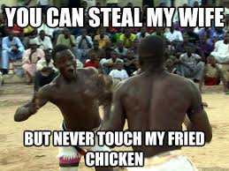 Nigerian chicken fight memes | quickmeme via Relatably.com