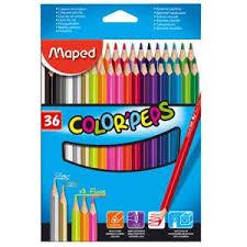 <b>Карандаши цветные</b>, <b>Maped</b>/<b>Мапед</b>, COLORPEPS, 36 цветов в ...