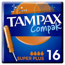 <b>Тампоны Tampax Compak</b> Super Plus с апликатором, 16 шт по ...
