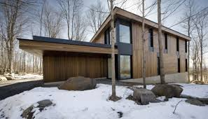 Timber Houses   Modern House Designs   Page Mountain Chalet Plan in Quebec  Canada