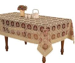 rectangular dining table cover cloth knitted vintage: amazoncom small vintage burgundy lace tablecloth embroidered round table linen round  by  inch home amp kitchen