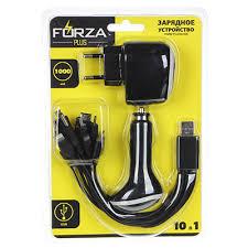 Каталог FORZA <b>Зарядное устройство</b> USB <b>универсальное</b> 10 в 1 ...