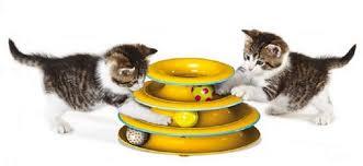 """<b>Petstages игрушка для кошек</b> Трек """"3 этажа"""" основание 24 см"""