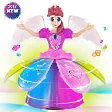 Girl Dancing Princess Multifunction Music Doll <b>LED</b> Pet Electronic ...